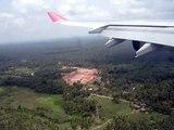 Sri Lankan Airlines Airbus A340 Landing in Colombo, Sri Lanka
