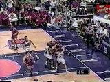 Chicago Bulls 1993 Segment Scottie Pippen Horace Grant John Paxson Talk about final moments of 1993 NBA finals WGN