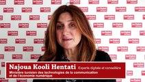 """L'Afrique digitale - Najoua Kooli Hentati, experte digitale au Ministère tunisien de l'économie numérique : """"La technologie, le moyen de relier les régions au reste du territoire"""""""