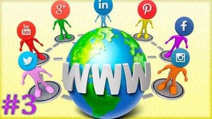 Vincula tu sitio web a tus redes sociales : Youtube ,Google plus,Facebook y Twitter