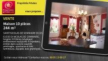 A vendre - maison - SAINT NICOLAS DE SOMMAIRE (61550) - 10 pièces - 244m²