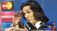 Edinson Cavani: le preguntaron por el Atlético de Madrid y solo atinó a...