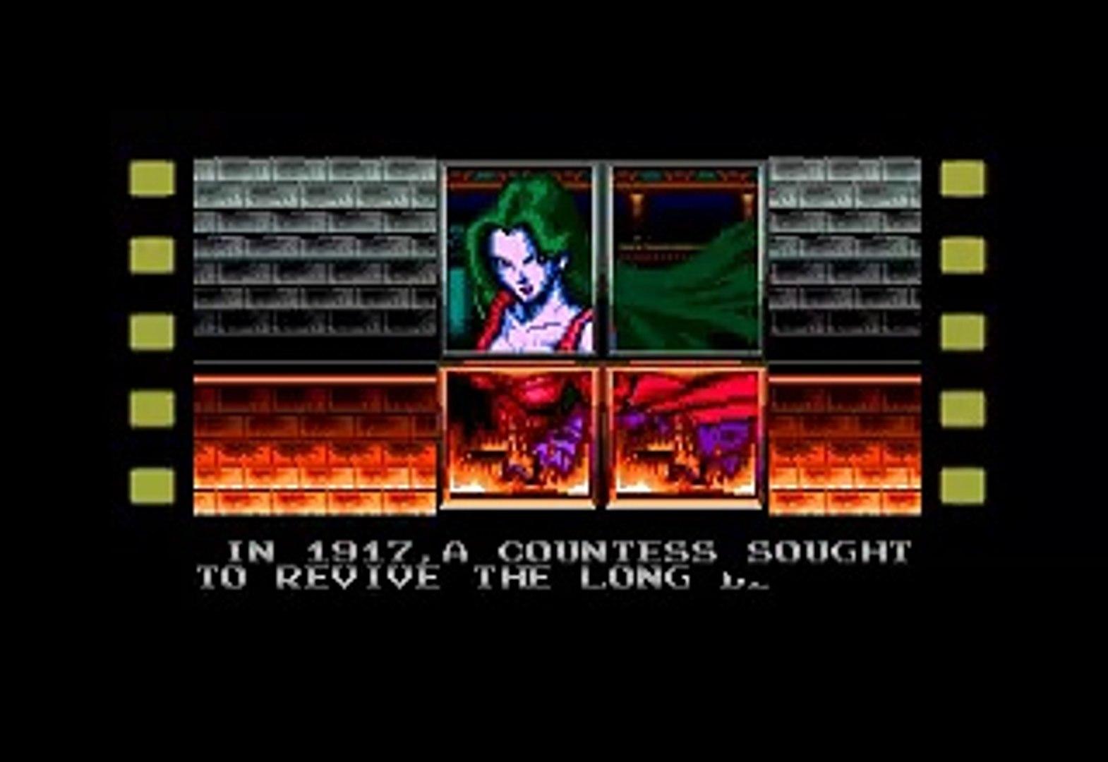 Genesis - Castlevania Bloodlines Intro