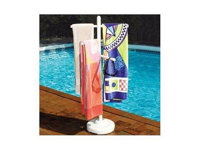 Pool Side Towel Rack