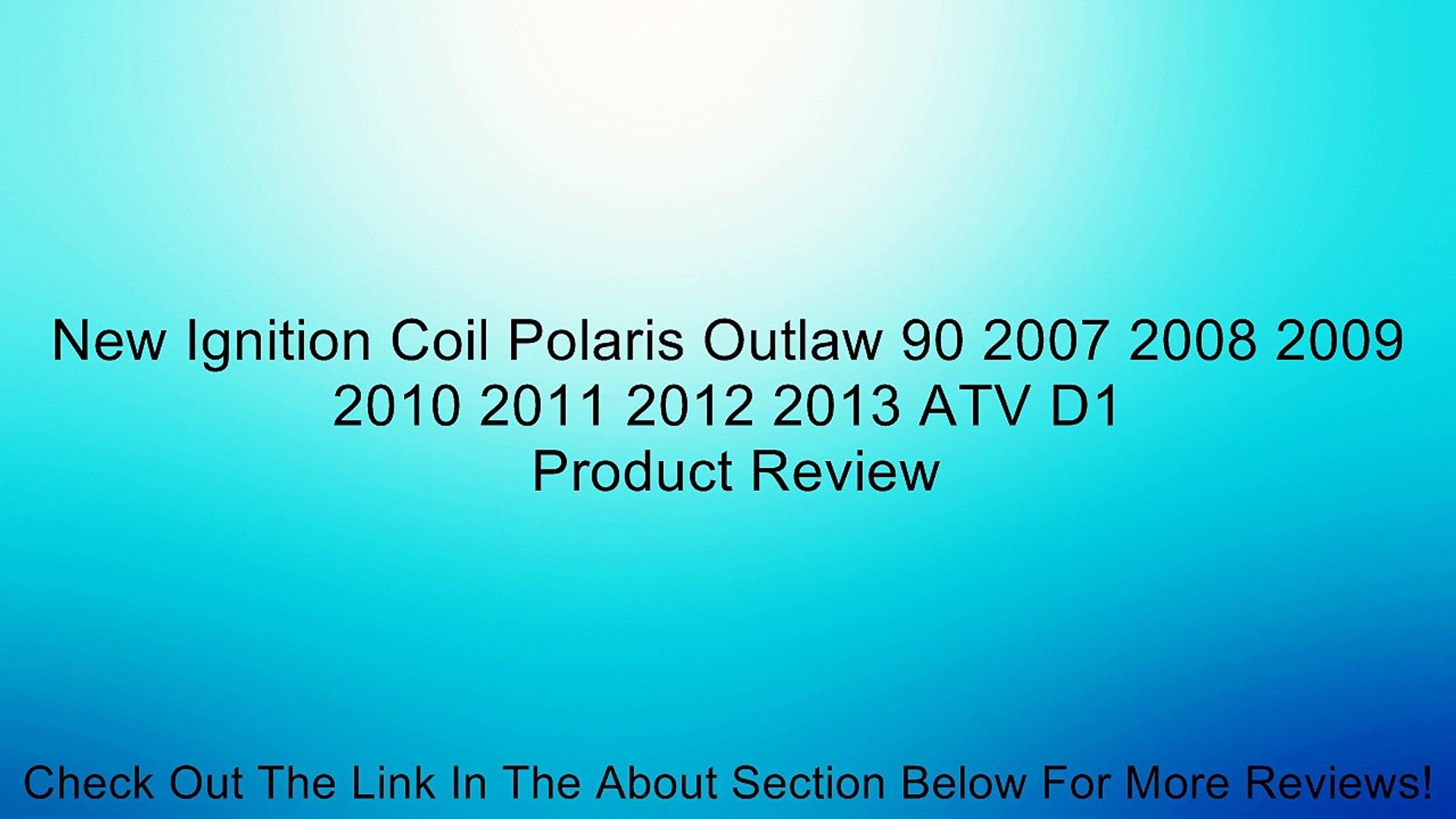 New Ignition Coil Polaris Outlaw 90 2007 2008 2009 2010 2011 2012 2013 ATV D1