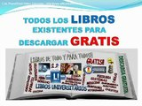 Descarga todos los libros existentes ingenieria, medicina, derecho, atlas, fisica, calculo, quimica
