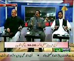 Hot Debate Between Arif Khan(MQM) , Firdous Naqvi(PTI) And Ziaullah Khan(JI)