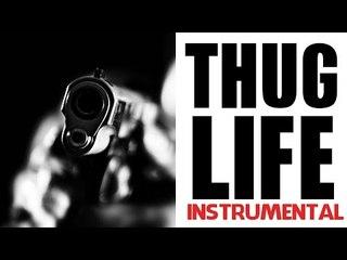 "HARD RAP INSTRUMENTAL {Sick Hip Hop Beat} Gangsta Aggressive Rap | ""Thug Life"""