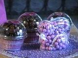 Recuerdos con chocolates en forma de cupcakes - DIY Cupcakes like souvenir