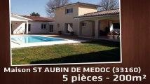 A vendre - Maison/villa - ST AUBIN DE MEDOC (33160) - 5 pièces - 200m²