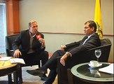 Entrevista Presidente Rafael Correa con canal 9 de Paraguay