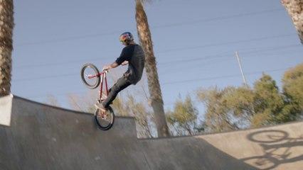 BMX Extreme skills of Daniel Sandoval