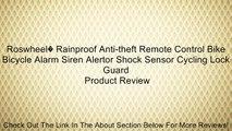 Roswheel� Rainproof Anti-theft Remote Control Bike Bicycle Alarm Siren Alertor Shock Sensor Cycling Lock Guard Review
