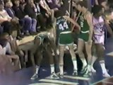 Pistons v. Celtics w/ rookie Larry Bird, Pete Maravich, Bob Ryan [3/20/1980]