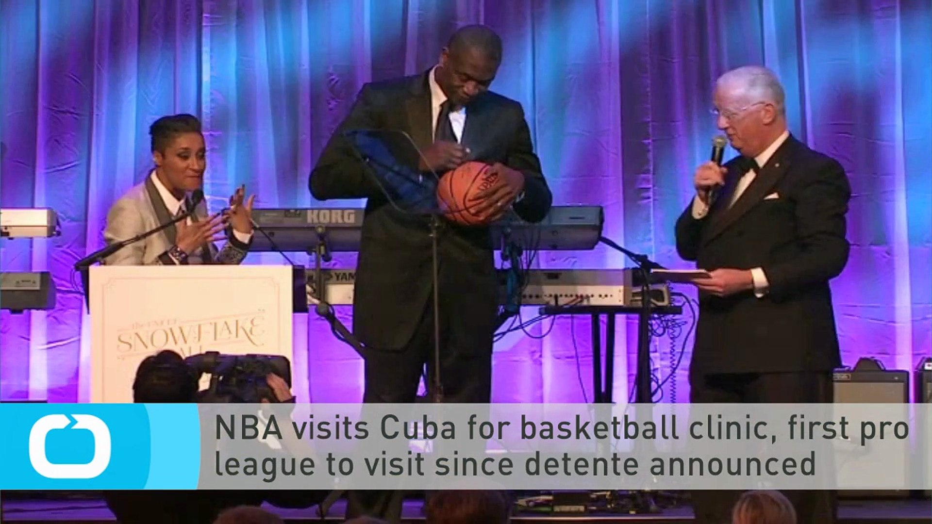 NBA Visits Cuba for Basketball Clinic, First Pro League to Visit Since Detente Announced