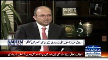 I was Nominated Chairman by Benazir Bhutto Shaheed and we made Bilawal Co-Chairman- Asif Ali Zardari