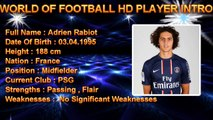 ADRIEN RABIOT ●  Best Goals Skills Assists ● PSG ( Paris Saint - Germain FC )