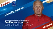 FFFTV Live Replay : Jeudi 23 à 11h30 : La liste pour le Mondial 2015 en direct ! (REPLAY)