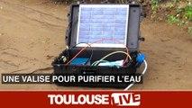 Une valise pour rendre l'eau usée en eau potable