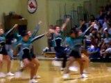 AHS cheerleaders Aies Fest Performance