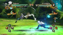 Naruto Shippuden: Ultimate Ninja Storm 3 - Skins DLC School | Kakashi School & Naruto Sasuke Kids vs Orochimaru (Pack Trajes Uniforme Escolar)