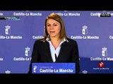 """Cospedal, en su lapsus más sincero: """"Hemos trabajado mucho en saquear a Castilla-La Mancha"""""""