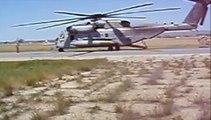 CH-46 Sea Knight and CH-53E Super Stallion
