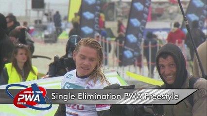 Mondial du Vent 2015 - Highlights J5  - Single elimination PWA Freestyle