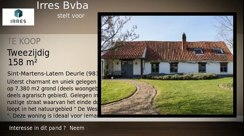Te koop - Boerderij - Sint-Martens-Latem Deurle (9831) - 158m²