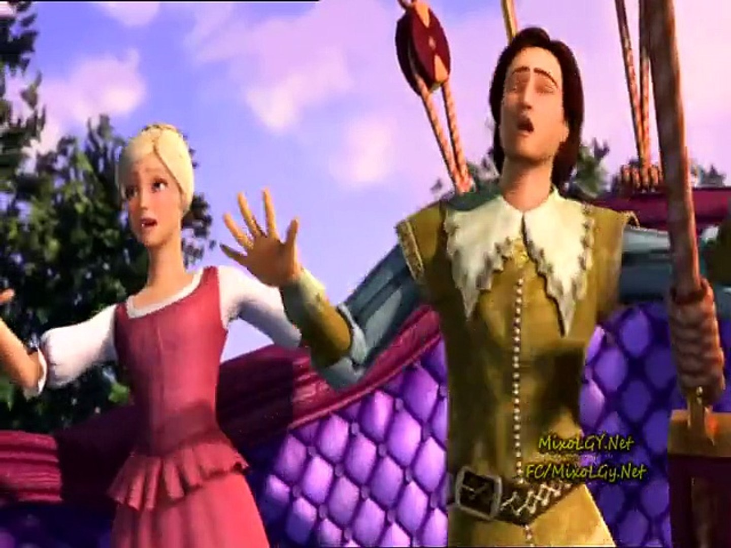 barbie and the three musketeers full movie in tamil dubbed