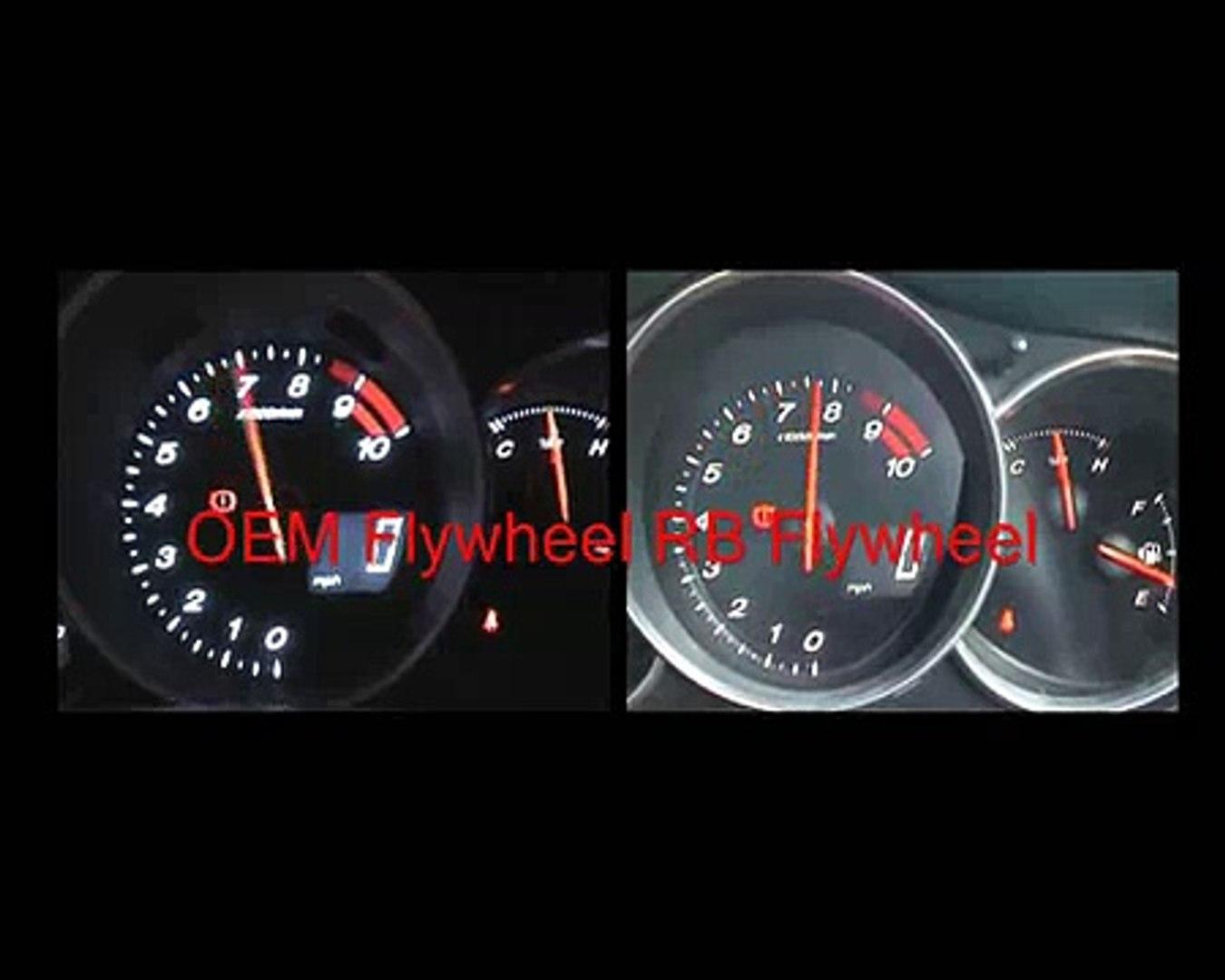 RX8 Flywheel Comparison