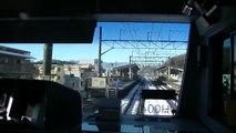 "JR横浜線「E233系6000番台」前面展望 八王子~橋本。Japanese train ""Yokohama Line"" Cab view."
