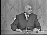 Le conflit Israël Palestine analysé par Charles de Gaulle