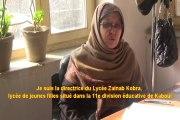 Entretien avec la Directrice de l'école Bibi Zainab Kobra (Kaboul)