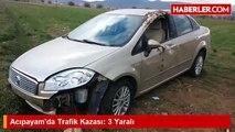Acıpayam'da Trafik Kazası- 3 Yaralı - Haberler.com