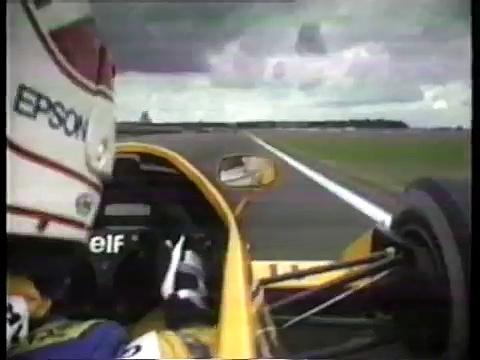 Formula One 1987 lap of Silverstone