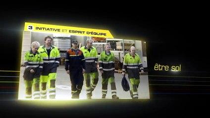 Les cinq valeurs du groupe ERAMET