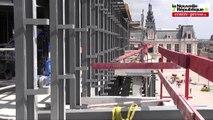 VIDEO. Poitiers. Visite du chantier de la résidence le Printemps