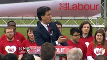 Miliband: 'Desperate' Tory claims on Labour spending plans