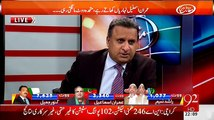 PTI has achieved its destiny by giving message that only PTI can give tough fight to MQM in Karachi - Rauf Klasra