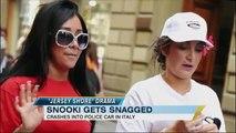 Snooki Hits Italian Police Car; 'Jersey Shore' Rattles Italy