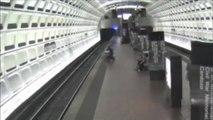 Good Samaritans Save Man in Wheelchair Who Fell on Subway Tracks