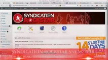 Syndication Rockstar Review Automatically Syndicate Unique Content with This SEO WordPress Plugin