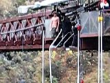 Me Bungy Jumping in Queenstown, New Zealand