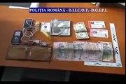 Elevi bistriteni retinuti pentru trafic si consum de droguri - Video DIICOT