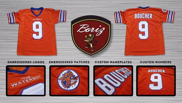 Sports Jerseys from Hollywood Movies