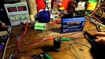 Nano Force - Super Capacitor test  (50 farad) - video