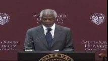 Kofi Annan's Five Rules for International Diplomacy at Saint Xavier University