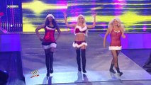 Melina, Kelly Kelly and Gail Kim vs. Maryse, Alicia Fox and Jillian Hall