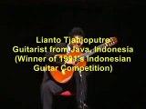 Lianto Tjahjoputro-Toccata & Fuga BWV 565- (guitar)J.S. Bach - Toccata und fugue in d minor